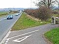 Cycle track behind the A688 - geograph.org.uk - 155890.jpg