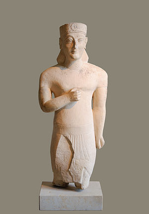 Cypriot statue - Neues Museum