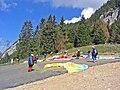 Départ de parapentes au-dessus du lac d'Annecy - panoramio.jpg