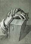 Dürer, Albrecht - Hand Study with Bible - 1506.jpg