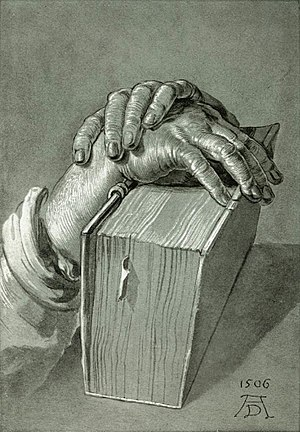 Hand Study with Bible