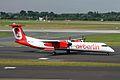 D-ABQH Dash 8Q-402 Air Berlin DUS 01AUG09 (6823097319).jpg