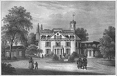 Putjatinsches Landhaus, 1837 (Quelle: Wikimedia)