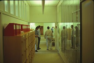 DDC-I - Several Ada compiler developers at DDC International in Lyngby in 1990.