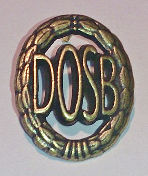 German Sports Badge - Image: DSA bronze 1