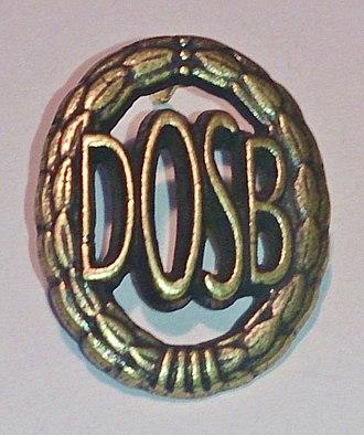 German Sports Badge - Image: DSA bronze 1