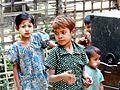 DSC00177 Burma Chin Village Child in the marriage Célébration (7479946360).jpg