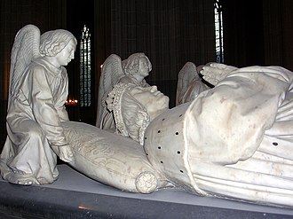 Tomb of Francis II, Duke of Brittany - François II, detail