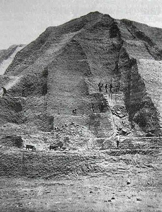 Phosphorite - Guano phosphorite mining in the Chincha Islands of Peru, c. 1860