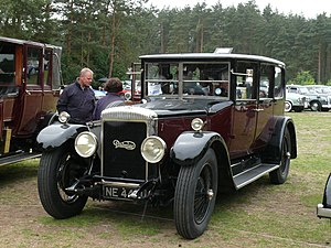 Edward Manville - Daimler car 1925