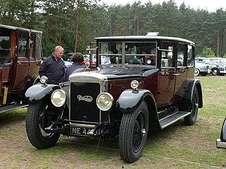 Edward Manville - Daimler car 1925