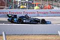 Dallara-Chevrolet DW12 KV-BMC Racing Ruebens Barrichello Morning Practice into Turn1 SPGP 24March2012 (14676684366).jpg