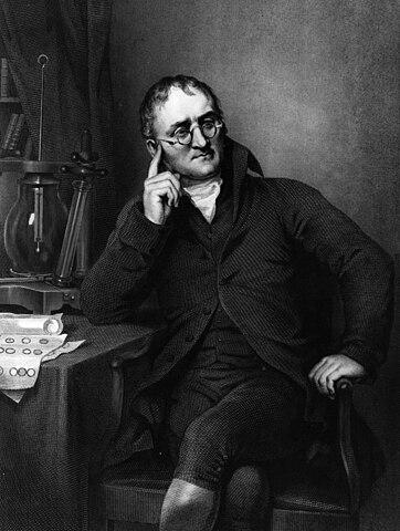 John Dalton (1776–1864).