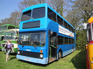 Damory Coaches - Northern Counties Palatine bodied Volvo Olympian on the Isle of Wight in April 2011