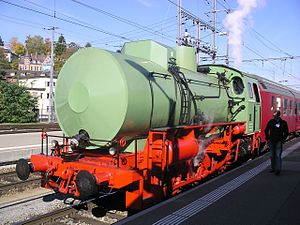 Fireless locomotive