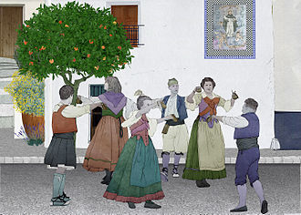 Folk dance - Traditional Valencian dances