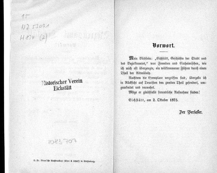 File:Das Bezirksamt Eichstätt - Buch (1875).pdf
