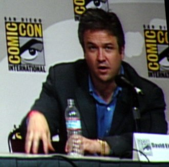 David Eick - David Eick at San Diego Comic-Con