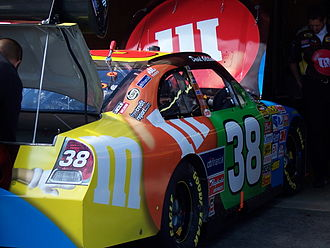 David Gilliland - Gilliland's 2007 M&Ms car