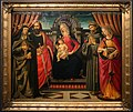 David ghirlandaio, madonna in trono e santi, 1480 ca.jpg