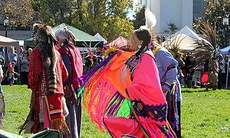Indigenous Peoples' Day - Indigenous Peoples' Day celebration in Berkeley, California in 2012