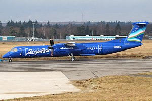 Yakutia Airlines - Dash 8 Q400 of Yakutia in a special new livery