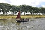 De zalmschouw RO38 uit 1898 op weg naar huis op het Kanaal door Walcheren (03).JPG