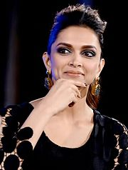 A shot of Deepika Padukone looking away from the camera