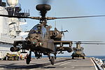 Defence Imagery - Helicopters landing aboard HMS Illustrious 06.jpg