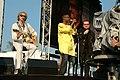 Deine Stimme Gegen Armut P8 concert Bob Geldof, Youssou N'Dour & Bono (535301627).jpg