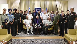 Delegation of National Defence College of india in a meeting with Reuven Rivlin president of Israel (9910).jpg