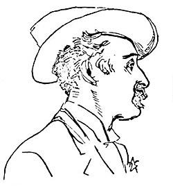 Delius by krohg 1897