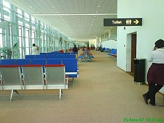 Yangon International Airport - The departure lounge - Gate 1 (Terminal 2)