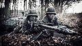 Der Maschinengewehrtrupp sichert (24987774522).jpg