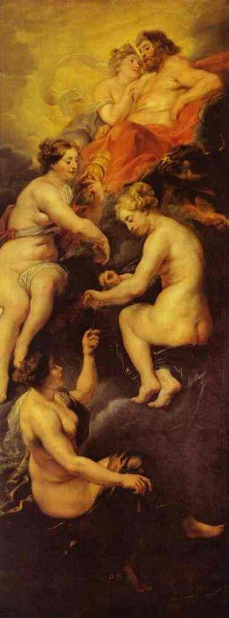 Marie de' Medici cycle - The Destiny of Maria de' Medici