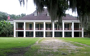 National Register of Historic Places listings in St. Charles Parish, Louisiana - Image: Destrehan Manor House 20070706