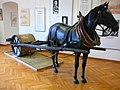 Deutsches Straßenmuseum, Germersheim. Horse-drawn road roller 01.jpg