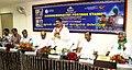 Dharmendra Pradhan addressing at the release of the postal stamp dedicated to Mahaprabhu Sree Jagannath on the eve of Nabakalebara Rath Yatra 2015, at Puri, Odisha on July 17, 2015.jpg