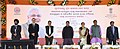 Dharmendra Pradhan at the inauguration of the Indian Oil Corporation's state of the art oil terminal at Jharsuguda & Augmented terminal at Jatni and Paradip-Raipur- Ranchi pipeline, in Malimunda of Jharsuguda district, Odisha.jpg
