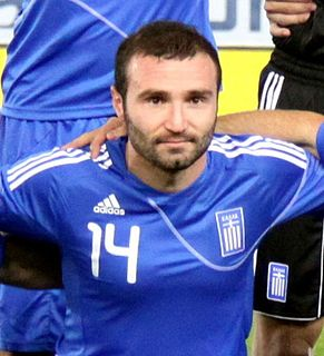 Dimitris Salpingidis Greek footballer