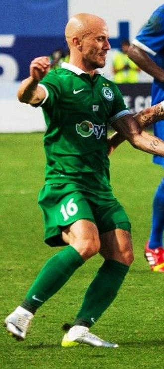 Cristóvão da Silva Ramos - Cristóvão playing with Omonia in 2014