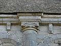 Dinan (22) Basilique Saint-Sauveur Costale sud de la nef Chapiteau 05.JPG