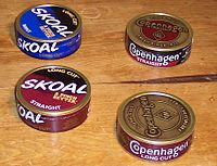 dipping tobacco wikipedia