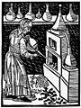 Distillation in 1475, Von den gebrannten Wassern. 1474 Wellcome M0011822.jpg