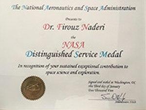 Firouz Naderi - NASA Distinguished Service Medal