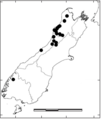 Distribution of P. ovalifolium in New Zealand.png