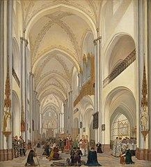 Det indre af Roskilde Domkirke