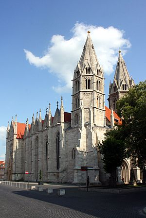 Divi Blasii - Image: Divi Blasii Kirche Mühlhausen
