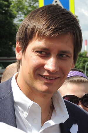 Dmitry Gudkov Moscow opposition rally 12 June 2013 2.JPG