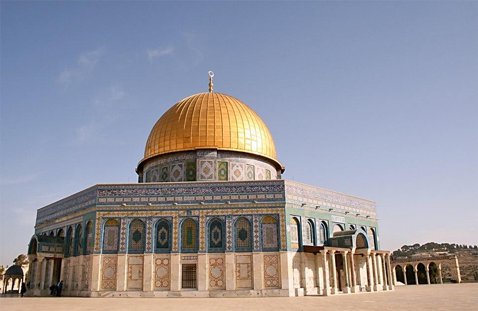 Dome of the Rock, Jerusalem 2007